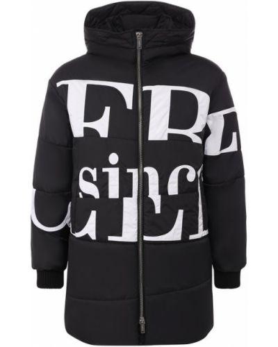 Черная куртка с капюшоном Iceberg