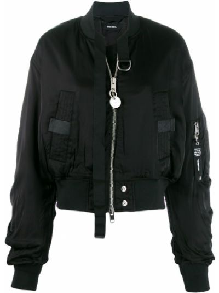 Куртка черная на молнии Diesel