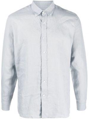 Koszula z długimi rękawami materiałowa zapinane na guziki Bluemint