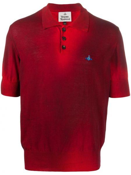 Koszula krótkie z krótkim rękawem klasyczna z kołnierzem Vivienne Westwood