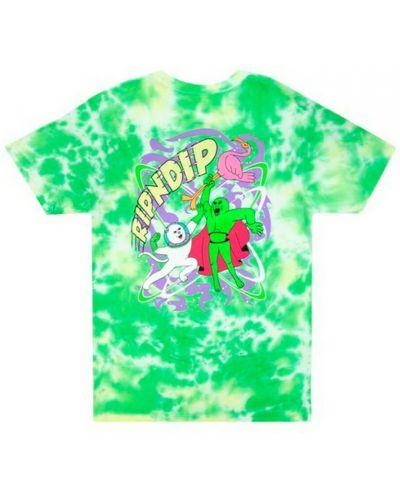 Zielona t-shirt Ripndip
