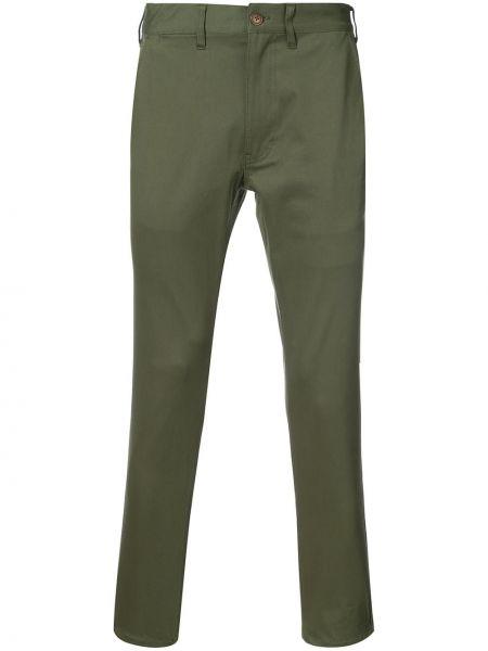 Укороченные брюки пэчворк 321