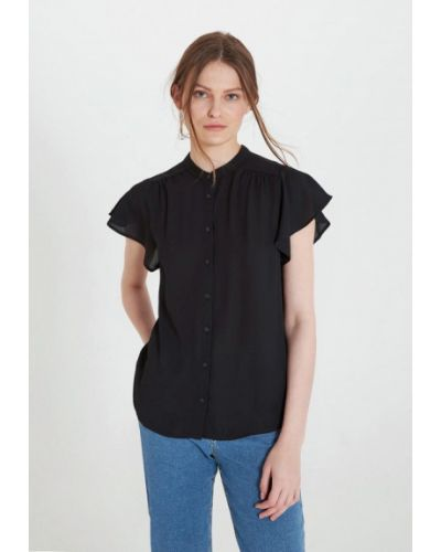 Блузка - черная Terranova