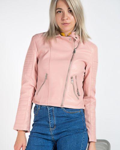 С рукавами брендовая розовая куртка Aftf Basic