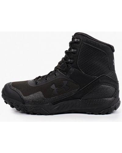 Ботинки трекинговые - черные Under Armour