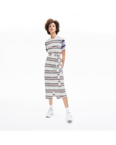 Хлопковое платье Lacoste