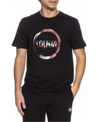 Czarna podkoszulka Colmar