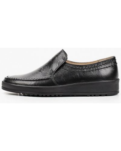 Кожаные ботинки - черные Salamander