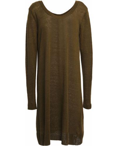 Prążkowana zielona tunika vintage American Vintage