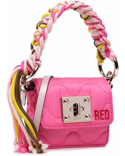 Różowa torebka Red Valentino