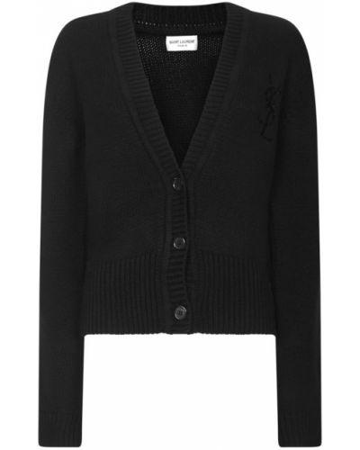 Czarny sweter Saint Laurent