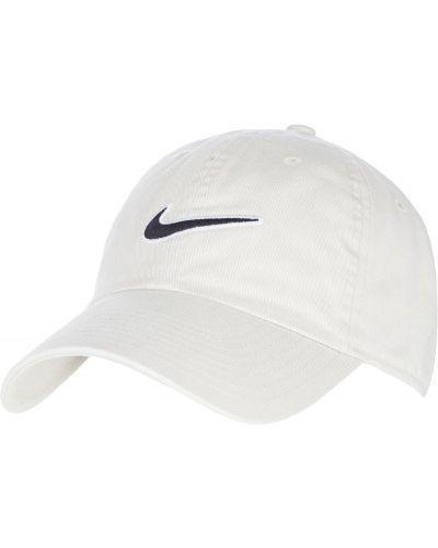 Бейсболка классическая белая Nike