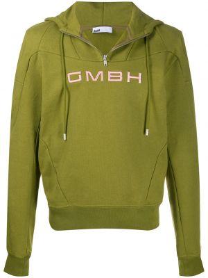 Zielona bluza z długimi rękawami Gmbh