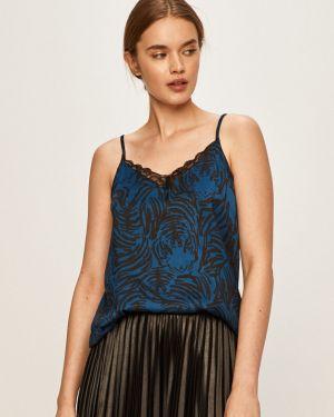 Блузка однотонная с V-образным вырезом Jacqueline De Yong