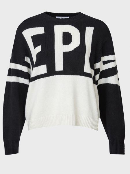 Белый шерстяной свитер Ice Play