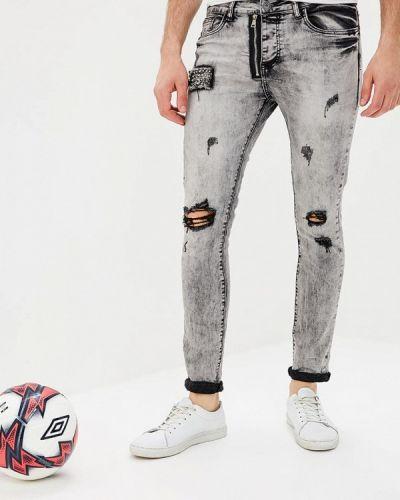 Серые джинсы Terance Kole