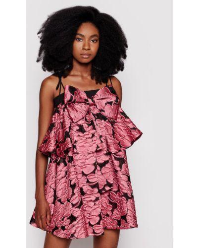 Różowa sukienka koktajlowa Custommade