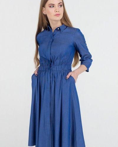 Платье миди - синее Viravi Wear