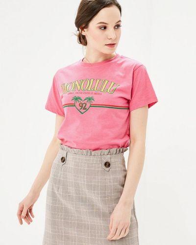 Розовая футболка Topshop
