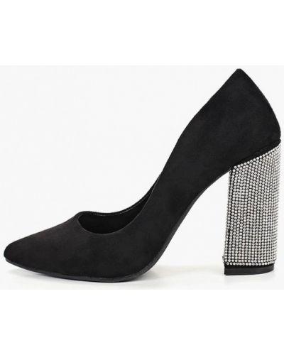 Туфли на каблуке велюровые Tulipano