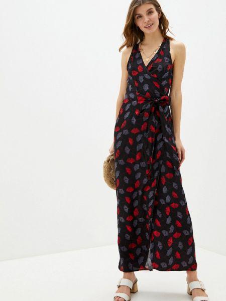 Пляжное черное пляжное платье Infinity Lingerie