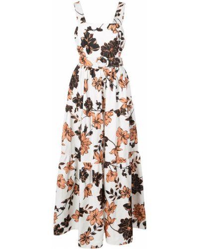Платье макси с открытой спиной с цветочным принтом Nicholas