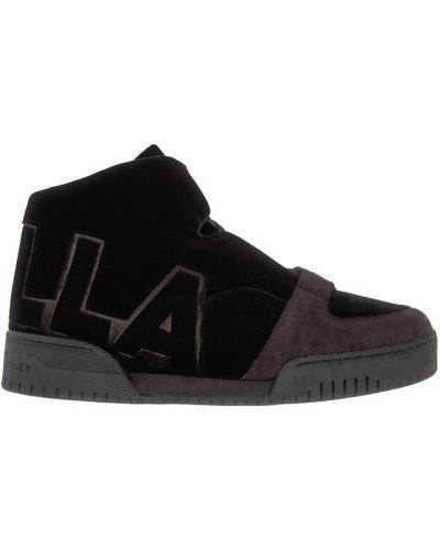 Черные кроссовки Stella Mccartney