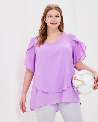 Блузка фиолетовый Darissa Fashion