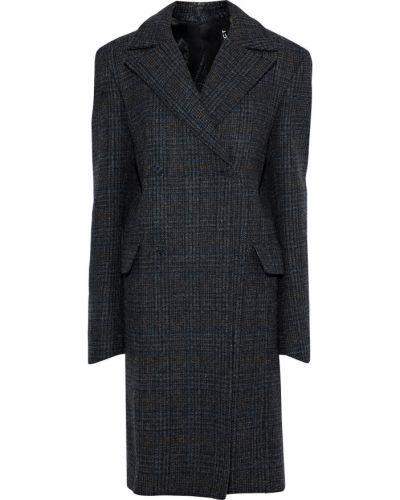 Шерстяное пальто двубортное с карманами Y/project