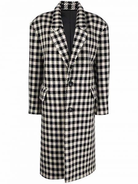 Пальто оверсайз - черное Ami Paris