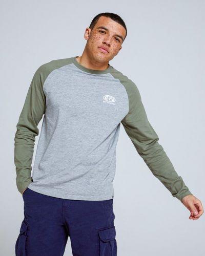T-shirt z printem - zielona Mountain Warehouse
