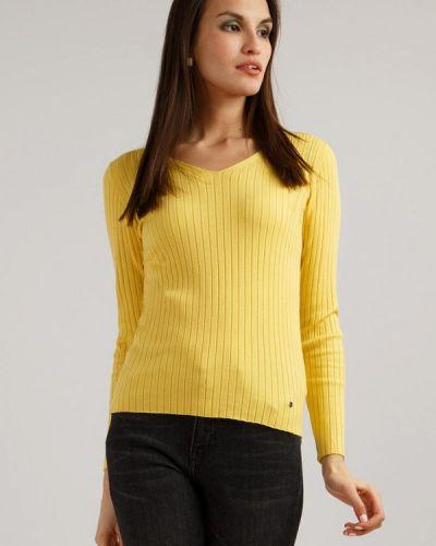 Желтый пуловер Finn Flare