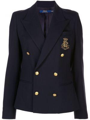 Поло приталенное с логотипом Polo Ralph Lauren