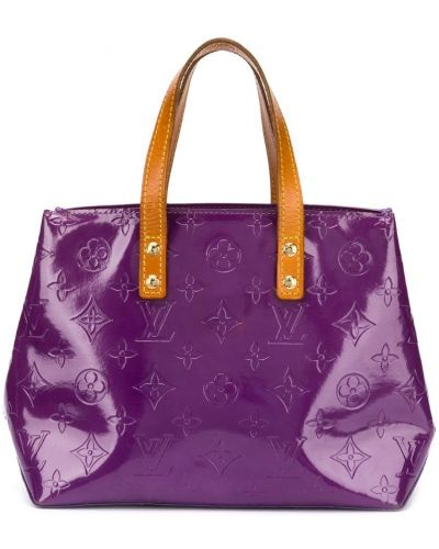 Фиолетовая сумка-тоут Louis Vuitton Pre-owned