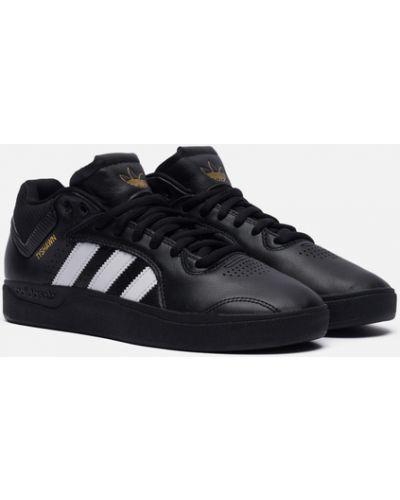 Черные резиновые кроссовки Adidas Skateboarding