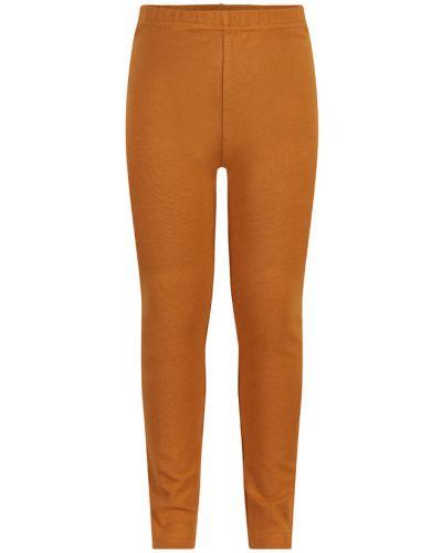 Pomarańczowe legginsy Noa Noa