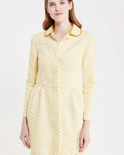 Желтое платье Katya Erokhina