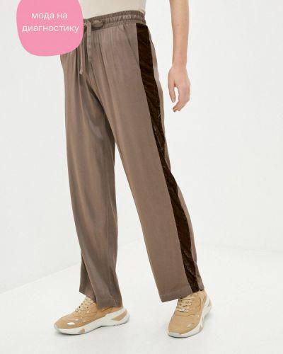 Коричневые брюки Deha