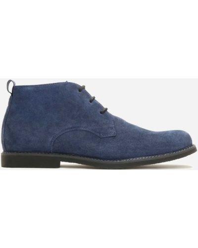 Ботинки - синие Kazar