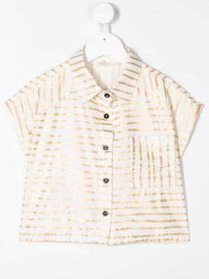 Lniana biała koszula - biała Andorine