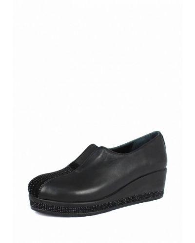 Кожаные туфли осенние на каблуке Blizzarini