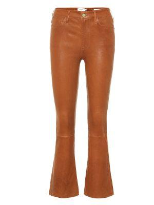 Укороченные брюки с поясом из штапеля Frame