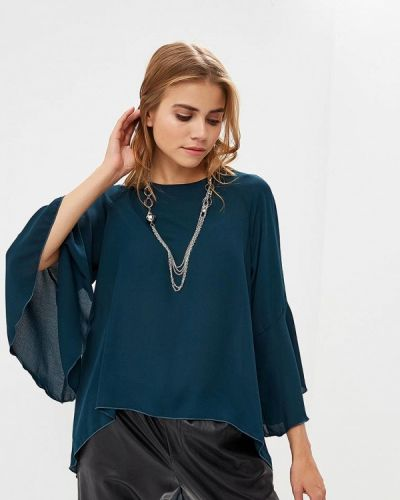 Блузка с длинным рукавом зеленый Piazza Italia