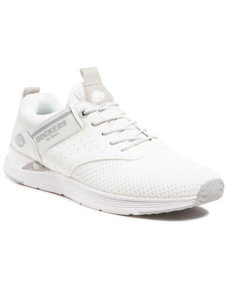 Sneakersy - białe Dockers By Gerli
