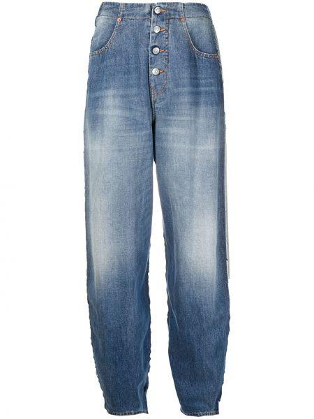 Зауженные джинсы - синие Mm6 Maison Margiela