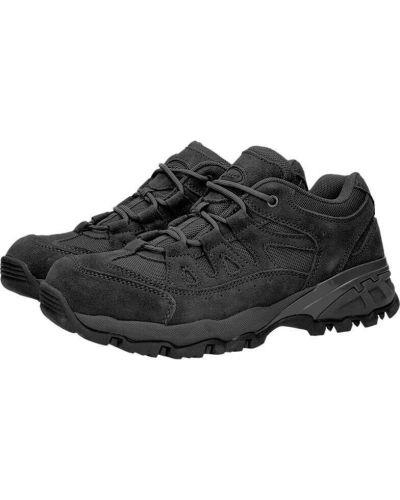 Кожаные кроссовки - черные Mil-tec