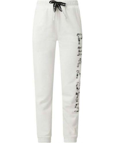 Białe spodnie bawełniane Frogbox