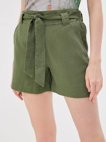 Повседневные шорты хаки S.oliver