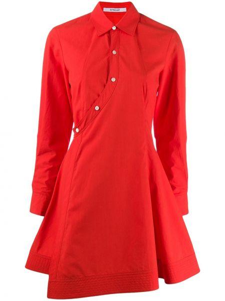 Платье мини с запахом на пуговицах Derek Lam 10 Crosby