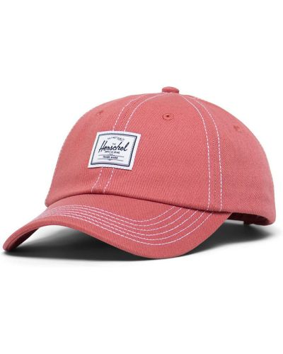 Różowy kapelusz materiałowy Herschel